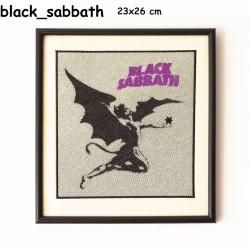 Obraz haftowany Black Sabbath