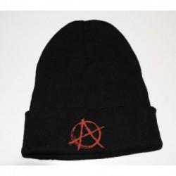 Czapka zimowa haft Anarchia 01