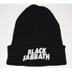 Czapka zimowa haft Black Sabbath 03
