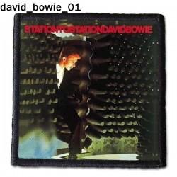 Naszywka David Bowie 01