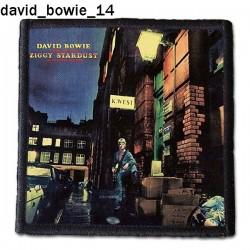 Naszywka David Bowie 14