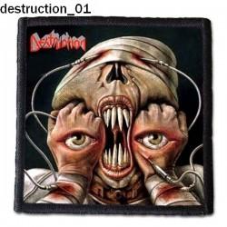 Naszywka Destruction 01