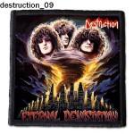 Naszywka Destruction 09