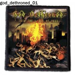 Naszywka God Dethroned 01