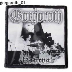 Naszywka Gorgoroth 01