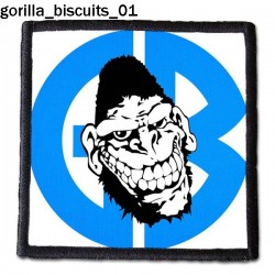Naszywka Gorilla Biscuits 01