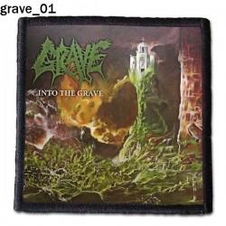 Naszywka Grave 01