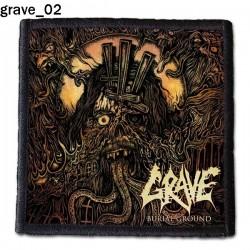 Naszywka Grave 02