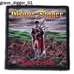 Naszywka Grave Digger 01