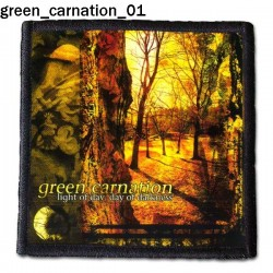 Naszywka Green Carnation 01