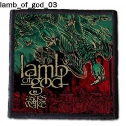 Naszywka Lamb Of God 03