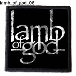 Naszywka Lamb Of God 06