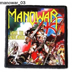 Naszywka Manowar 03