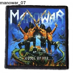 Naszywka Manowar 07