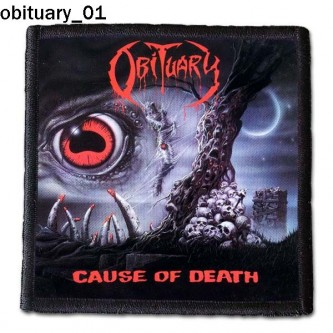 Naszywka Obituary 01