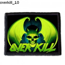Naszywka Overkill 10