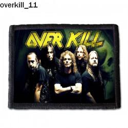 Naszywka Overkill 11