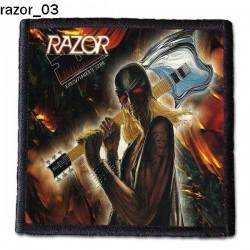 Naszywka Razor 03