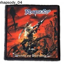 Naszywka Rhapsody 04