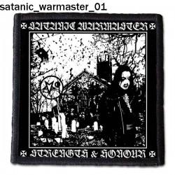 Naszywka Satanic Warmaster 01