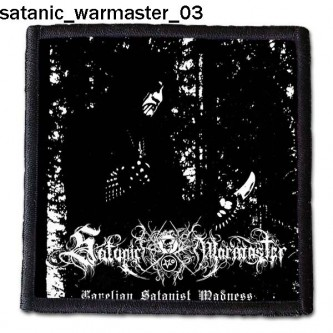 Naszywka Satanic Warmaster 03