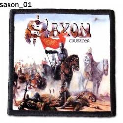 Naszywka Saxon 01