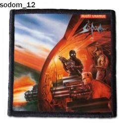 Naszywka Sodom 12